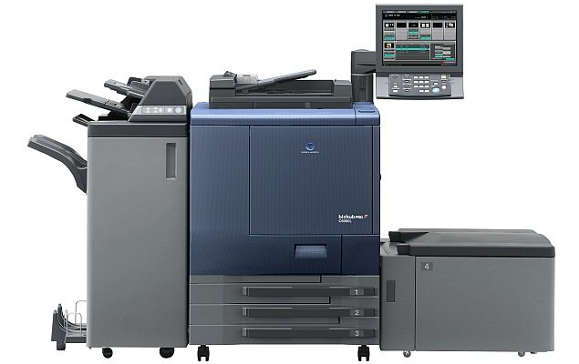 The bizhub PRO C6000L promises all this and more. The amazing imaging capabilities of Konica Minolta's high-speed colour digital press in combination with its robust construction, professional feature set and attractive affordability make this an ideal and highly flexible, entry-level print production solution