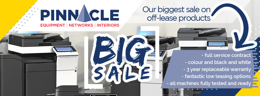 Used Copiers and More from Pinnacle - St. John's and metro area's choice for quality office Equipment